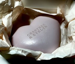 CRABTREE & EVELYN Boxed Lavender Heart Soap 7.05 oz - $9.79