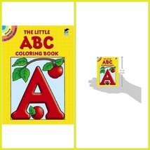 Kids Coloring Book Little ABC Stress Relief Activity Drawing Books For C... - $5.47