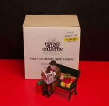 DEPT 56 -Christmas in the City, Rest Ye Merry Gentlemen ~NEW IN BOX - $13.86