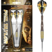 Phil Taylor Target Gen 3 9Five 95% Tungsten 24 gram Steel Tip Dart Set B... - $134.93