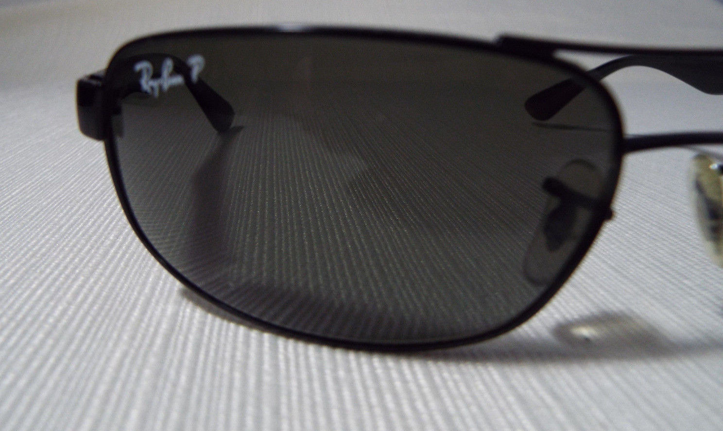 43c75d5fd2 Ray-Ban RB3445 61 17 Black Full Frame Wrap Sunglasses Polarized Rx-able  Lenses