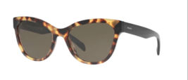 Prada Sunglasses PR21SS 7S05S2 56  Medium Havana Frame, Brown - $405.90