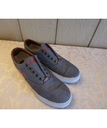 $59.00 Polo Ralph Lauren Vito Laceless  Sneakers,Chambray Gray, US 7.5, D - $19.45