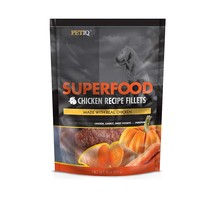 PetIQ Superfood Chicken Recipe Fillets for Dogs - Grain Free Dog Treats,... - $20.52