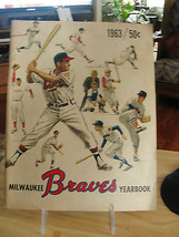 1962 Milwaukee Braves Yearbook, old, baseball, roster, pictures - $75.95