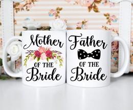 momentfrozen Mother Father Bride kitchen ceramic coffee mug - $46.95