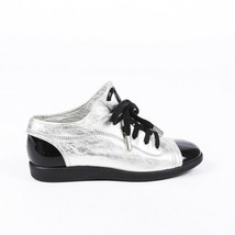 Chanel Leather CC Sneakers SZ 38 - $360.00