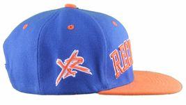 Young & Reckless La Bloc Royal Orange Bleu Réglable Casquette de Baseball Nwt image 3
