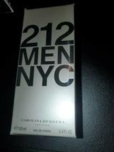 212 Men NYC By Carolina Herrera 3.4 OZ 100 ML Eau De Toilette [New and S... - $49.45