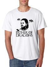 Men's T Shirt Father Of Dragons Cool Shirt Hot Gift - $16.94+