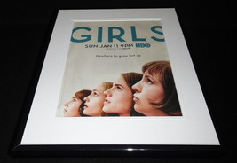 Girls 2015 HBO Framed 11x14 ORIGINAL Vintage Advertisement Lena Dunham - $22.55