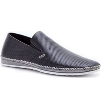 NEW ZANZARA Mens MERZ Slip-On Premium Perforated Leather Shoes image 2