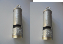 METAL WHISTLE of Aix Systems IBM original from 1986 Working - $25.00