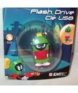 vintage ✰ NIP Emtec Looney Tunes 8gb Flash Drive MARVIN MARTIAN Sealed U... - $29.99