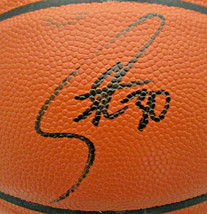 STEPHEN CURRY / GOLDEN STATE WARRIORS / AUTOGRAPHED FULL SIZE NBA BASKETBALL COA image 2