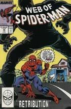 The Web of Spider-Man #39 VF/NM 1988 Marvel Comic Book - $1.89