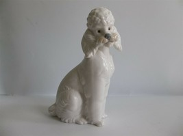 "Lladro NAO Poodle Dog Figurine Retired 6"" Daisa 1985 - $89.99"