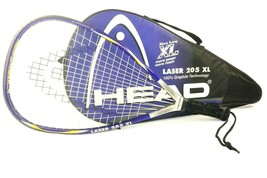 Head Laser 205 XL Graphite 3 7/8 Racquetball Racquet With Case - $13.99