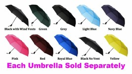 Colorful Travel Small Compact Umbrella, Outdoors Comfortable Soft Grip A... - $29.69+