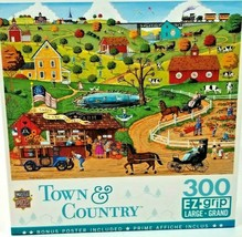 """Masterpieces Town & Country """"Share in the Harvest""""  300 pc Puzzle EZ Grip - $5.94"""