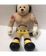 """WWE WWF CM Punk Wrestling Teddy Bear Plush Stuffed Animal 16"""" - $39.99"""