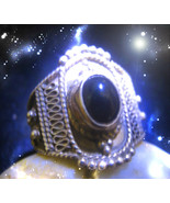 HAUNTED RING DRAIN THE ENERGY OF ALL OF YOUR ENEMIES SECRET OOAK RARE MA... - $4,907.77