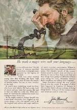 Alexander Graham Bell Telephone John Hancock 1959 Print AD - $14.99