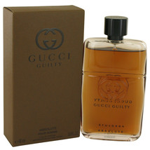 Gucci Guilty Absolute by Gucci 3 oz EDP Spray for Men New in Box - $82.51