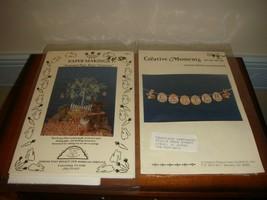 Creative Moments Cross Stitch Banner & Homespun Elegance Easter Ornaments - $18.99