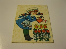 1971 Mother Goose Board Game Piece: Game card #8 - $1.00
