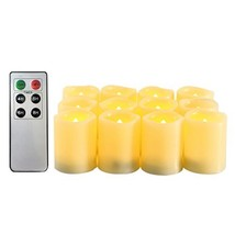 Candle Choice Flameless Candles Battery Operated LED Votive Candles (Vot... - $37.27
