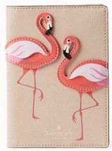 Kate Spade New York Passport Holder By The Pool Flamingo
