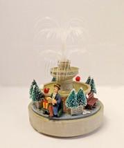 Christmas Decoration St Nicholas Square Fountain - $24.70
