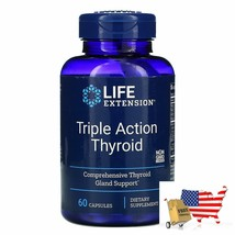 Life Extension, Triple Action Thyroid, 60 Capsules - $41.45