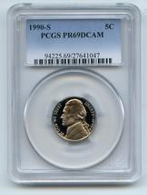 1990-S 5C DC (Proof) Jefferson Nickel PR69DCAM PCGS  20170019 - $12.19