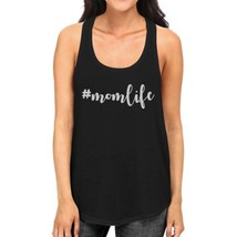 Momlife Womens Black Unique Design Tanks Unique Gift Ideas For Moms - $14.99