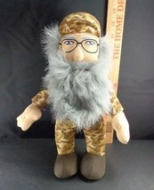 "Uncle Si Robertson Plush Doll 13"" Duck Dynasty Stuffed A&E Toy Beard Uncle - $7.42"