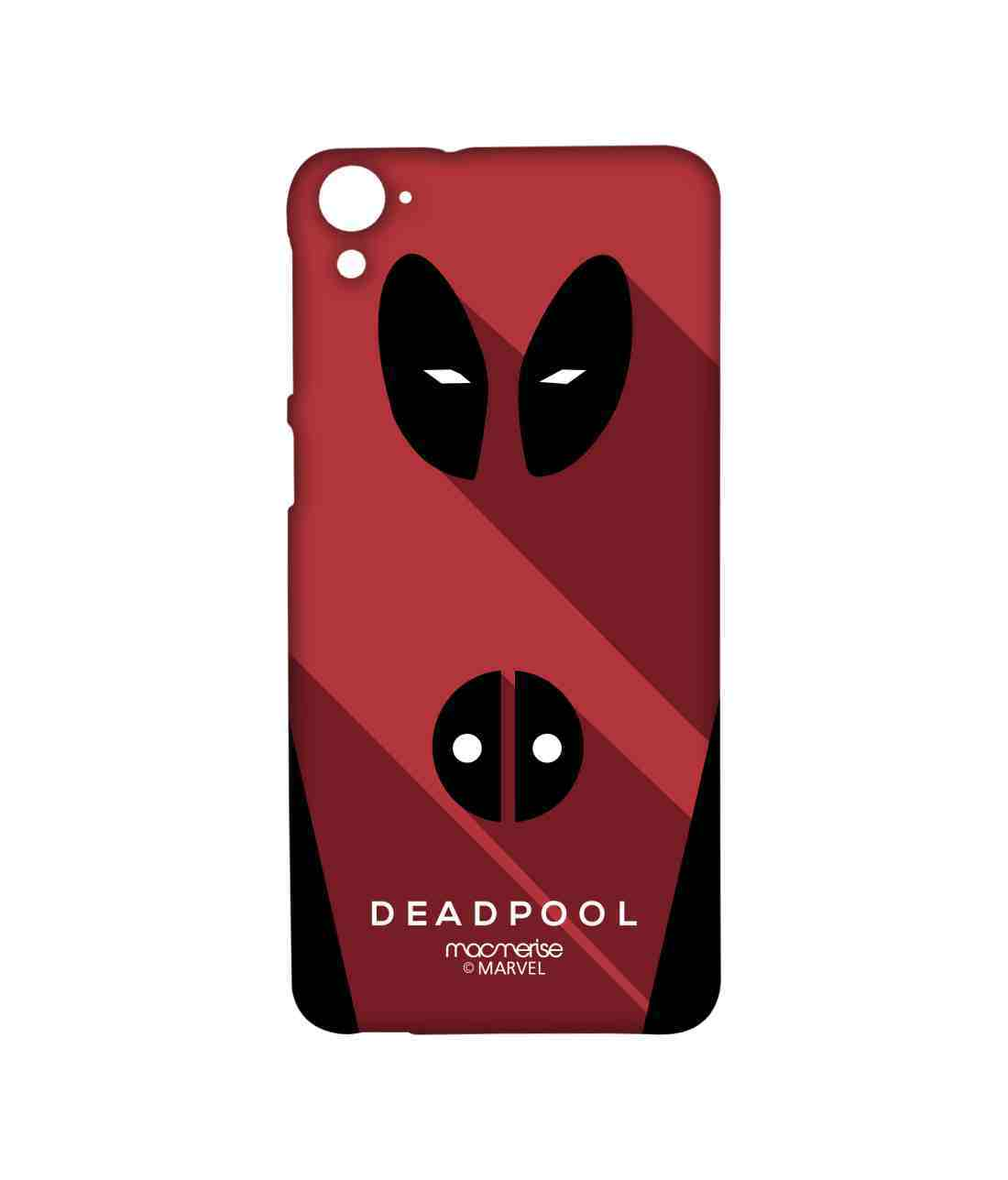 Minimalistic Deadpool - Sublime Case for HTC Desire 826