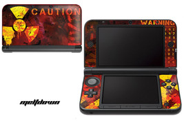 Skin Decal Wrap for Nintendo 3DS XL Gaming Handheld Sticker 12-15 MELTDOWN - $13.81