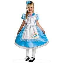Disney Classics Alice in Wonderland Costume  NEW Size XS 3-4T w/ Pinafore & Bow - $21.77