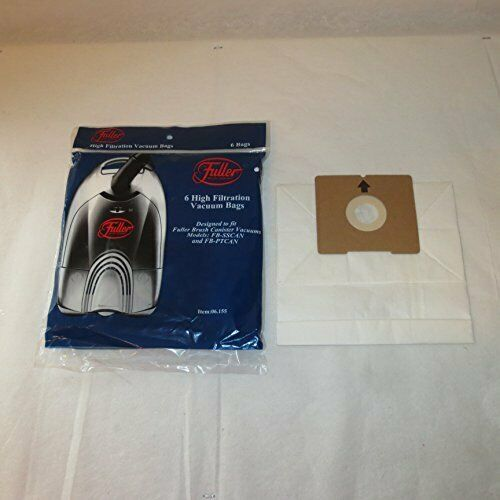 Primary image for Fuller Brush Canister FB-SSCAN FB-PTCAN Genuine High Cleaner Bags: 72 Bags