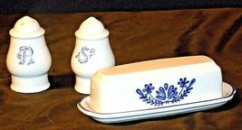 Pfaltzgraff Salt, Pepper and Butter Container 028 AA20-2131 Vintage image 5