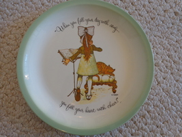 Holly Hobbie Collector's Edition Plate (#2851) - $2.99