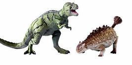 Toy Tron Dino King 2 3D Animation Dinosaur Figures Tarbosaurus and Saichania Fig