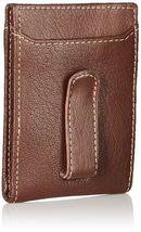 Timberland Men's Premium Genuine Leather Money Clip Credit Card Id Wallet image 8