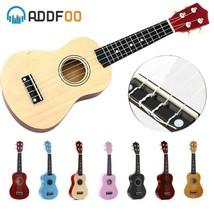 Ukulele Soprano 4 Strings Hawaiian Spruce Basswood Guitar 21 inch - $26.69