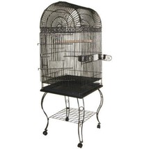 A&e Cage Black Economy Dome Top Bird Cage 20x20x58 In - £187.64 GBP
