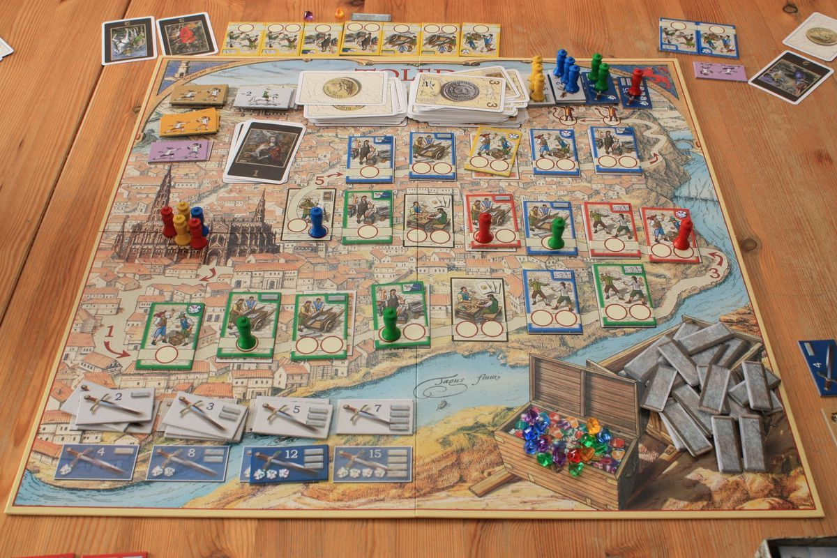 TOLEDO - Mayfair Board game (MIB/NEW)