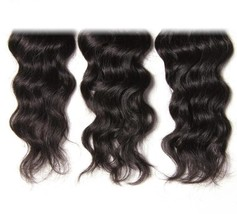 Natural Wave Peruvian Hair Bundles - Natural Color, 8 8 10 - $110.60