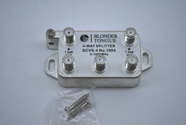 20 CABLETRONIX 5-1000 MHZ 3-WAY CTVS-4 VIDEO//AUDIO CABLE TV SPLITTER 4 OUTPUTS